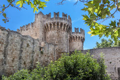 Rhodes Island Medieval City Royalty Free Stock Photos