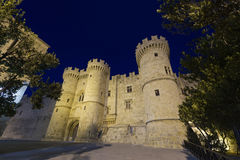 Rhodes - Knights Grand Master Palace stock image