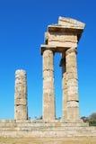 Rhodes Landmark Acropolis fotografering för bildbyråer