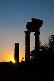 Rhodes Landmark Acropolis. Rhodes landmark ancient acropolis. Greece, Rhodes city Stock Photos