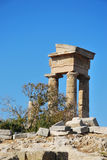 Rhodes Landmark Acropolis Royalty Free Stock Image