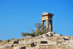 Rhodes Landmark Acropolis Stock Photos
