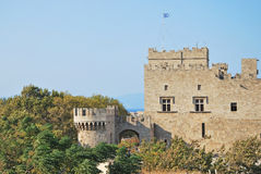 Rhodes Landmark Grandmasters Palace. Greece. Old town Stock Images