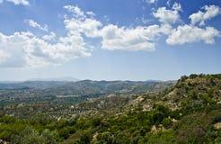 Rhodes landscape Stock Image