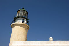Rhodes lighthouse - Greece Stock Photography