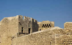 Rhodes Lindos Royalty Free Stock Photo