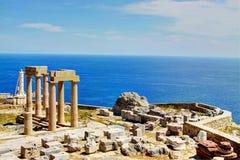 Rhodes - Lindos Royaltyfri Bild