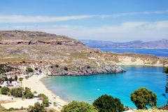 Rhodes - Lindos Royalty Free Stock Images