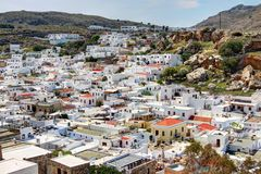 Rhodes - Lindos Royalty Free Stock Photography