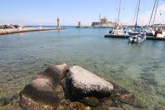 Rhodes Marina Royalty Free Stock Image