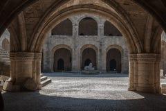Rhodes Medieval Castle Stock Photos