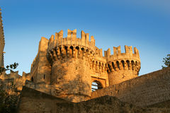 Rhodes Medieval Knights Castle (Palace), Greece Royalty Free Stock Photo