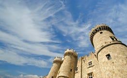 Rhodes Medieval Knights Castle (Palast), Griechenland Stockbild