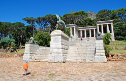 Rhodes Memorial monument in Cape Town, South Africa Stock Photography