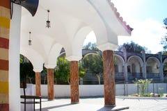 Rhodes.monastery of sacred Nektary Stock Photo