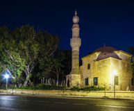 Rhodes. Murad Mosque Res. Muslim cemetery. Royalty Free Stock Photos