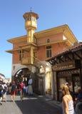 Rhodes Old-Stadt, Griechenland Stockfotografie