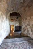 Rhodes Old Town, der Palast von Großmeistern Griechenland Stockbilder