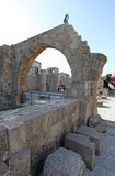 Rhodes Old Town Fortress. Greece Royalty Free Stock Photo