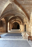 Rhodes old town, grand master's palace royalty free stock photos
