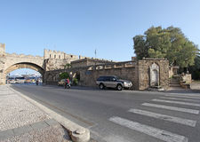 Rhodes Old Town. Greece Royalty Free Stock Photography