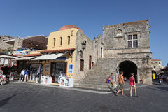 Rhodes Old Town. Greece Stock Photography