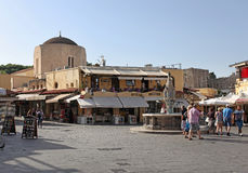 Rhodes Old Town. Greece Stock Photo