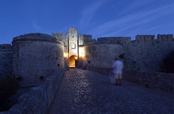 Rhodes, Old Town Royalty Free Stock Image