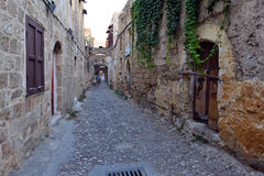 Rhodes, Old Town Royalty Free Stock Images