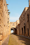 Rhodes old town Royalty Free Stock Photo