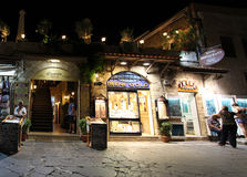 Rhodes Old town by night. Greece Royalty Free Stock Photography