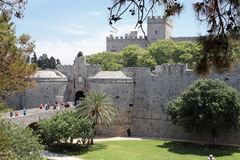 Rhodes Palace of the Grand Master Royalty Free Stock Images