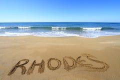Rhodes obrazy royalty free