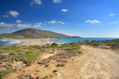Rhodes. Prassonisi.Greece. royalty free stock photos
