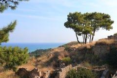 Rhodes scenery Stock Photo