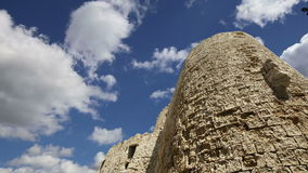 Rhodes Tower of St. Nicholas, Greece  time lapse stock video