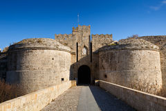 Rhodes town. Stock Image
