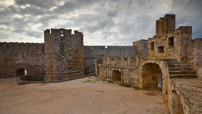 Rhodes town. Stock Images