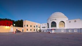 Rhodes town. stock photos