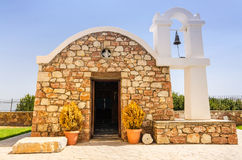 Rhodes traditional small temple Royalty Free Stock Image