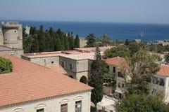Rhodes w Grecja zdjęcia stock