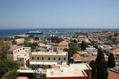 Rhodes w Grecja obrazy stock