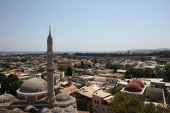 Rhodes w Grecja obrazy royalty free
