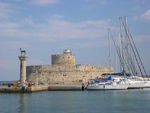 Rhodes wyspę. Fotografia Royalty Free