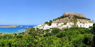 Rhodes wyspa Obrazy Stock