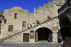 Rhodes wyspa Zdjęcia Royalty Free