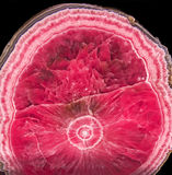 Rhodochrosite mineral from Capillitas Mine, Argentina Stock Images