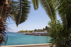 Ειδυλλιακά ελληνικά νησιά στοκ εικόνες