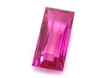 Rhodolite or Ruby gemstone Royalty Free Stock Photos