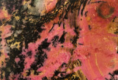 Rhodonite Royalty Free Stock Photo